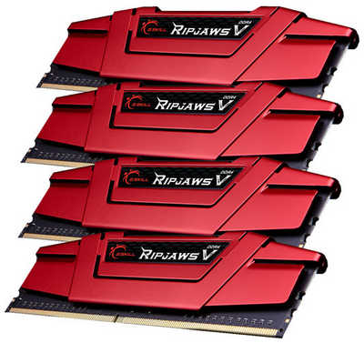 32GB DDR4 G.Skill Ripjaws V GS-F4-3000C15Q-32GVR 3000MHz CL15-15-15-35-2N (4x8GB)