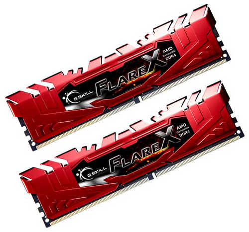 16GB DDR4 G.Skill Flare X F4-2400C15D-16GFXR 2400MHz CL15-15-15-39 (2x8GB)