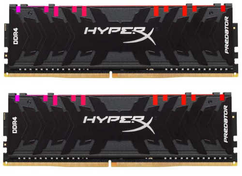 16GB DDR4 Kingston HyperX Predator RGB HX432C16PB3AK2/16 32600MHz CL16 (2x8GB)