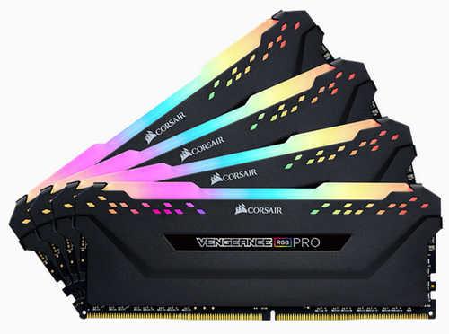 32GB DDR4 Corsair CMW32GX4M4C3200C16 Vengeance RGB PRO 3200Mhz CL16-18-18-36 (4x8GB)
