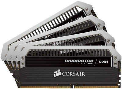 64GB DDR4 Corsair CMD64GX4M8A2666C15 Dominator Platinum PC4-21300 (2666MHz) CL15-17-17-35 (8x8GB)
