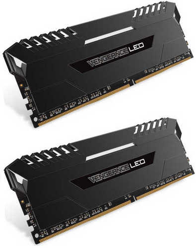 32GB DDR4 Corsair CMU32GX4M4C3400C16 Vengeance LED 3400MHz CL16-18-18-36 (4x8GB)