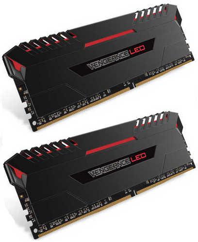 32GB DDR4 Corsair CMU32GX4M2C3200C16R Vengeance Red LED 3200MHz CL16-18-18-36 (2x16GB)