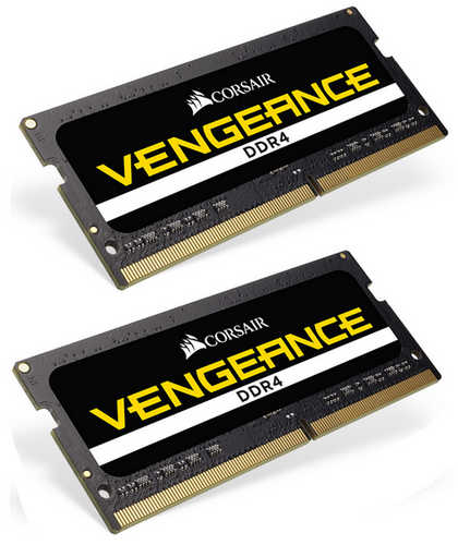 32GB DDR4 Corsair CMSX32GX4M2A2400C16 Vengeance 2400MHz CL16-16-16-39 SO-DIMM 260-pin Notebook RAM (2x16GB)