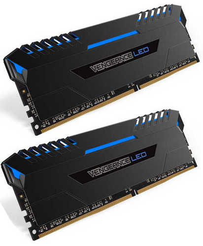 16GB DDR4 Corsair CMU16GX4M2C3000C15B Vengeance Blue 3000MHz CL15-17-17-35 (2x8GB)