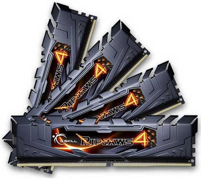64GB DDR4 G.Skill Ripjaws 4 F4-2400C15Q2-64GRK 2400MHz CL15-15-15-35-2N (8x8GB)