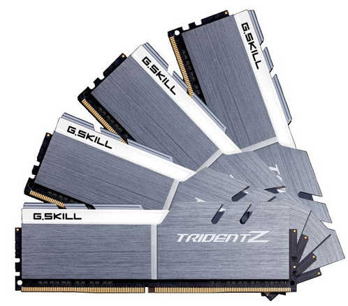 64GB DDR4 G.Skill Trident Z F4-3200C16Q-64GTZSW 3200MHz CL16-18-18-38-2N (4x16GB)