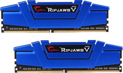16GB DDR4 G.Skill Ripjaws V Steel Blue F4-2400C15D-16GVB 2400MHz CL15-15-15-35-2N (2x8GB)