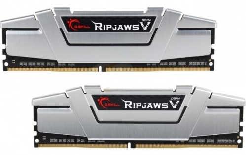 16GB DDR4 G.Skill Ripjaws V Silver F4-2400C15D-16GVS 2400MHz CL15-15-15-35-2N (2x8GB)