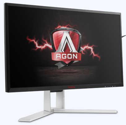 "27"" AOC AG271QX  1ms 2K Ultimate Gaming DVI, HDMI, DisplayPort LED Monitor Built in Speakers"