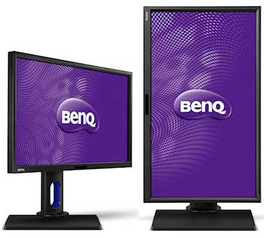 "27"" BenQ BL2711U 12ms, 4ms (GtG)‎ DVI, HDMI, Display Port 4K Designer LED Monitor Built in Speakers"