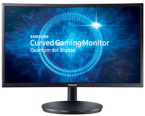 "24"" Samsung LC24FG70FQEXXY 1ms 144Hz HDMI Display Port LED Curved Gaming Monitor"