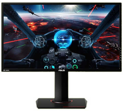 "24"" ASUS MG24UQ 4ms (Gray to Gray) 4K UHD Gaming LED Monitor Built in Speakers"