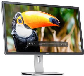 "27"" Dell P2715Q Ultra HD 4K Grey-to-Grey 9 ms Height adjustable, USB Ports, HDMI, Display Port Monitor"