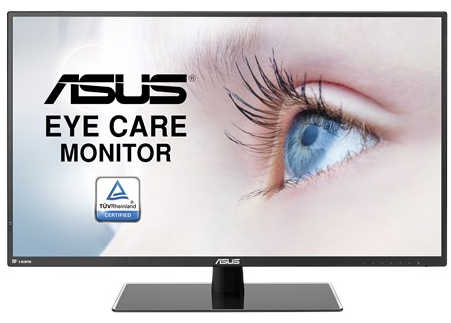 "31.5"" ASUS VA32AQ 5ms Eye Care HDMI, DisplayPort IPS Monitor Built in Speakers"