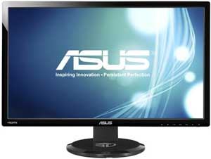 "27"" ASUS VG278HE 2ms DVI, HDMI Black 3D Monitor With Speakers"