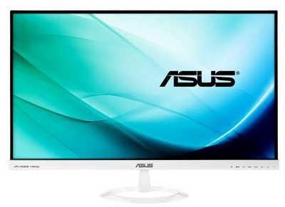 """27"""" ASUS VX279H-W White Frameless Elegant Design 5ms HDMI IPS Monitor Built in Speakers"""