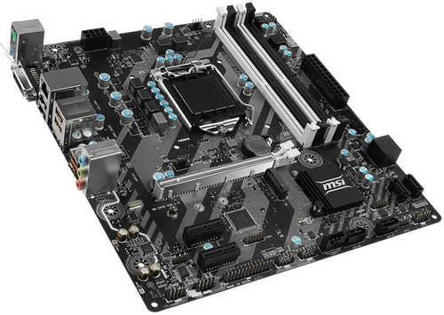 MSI B250M BAZOOKA Intel B250 LGA1151, 4xDDR4, PCIE, Int. Graphic, USB3.1, mATX