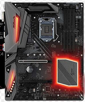 ASRock B360 GAMING-K4, ATX, PCIe, CFX, M.2, HDMI, DP,USB 3.1, Intel I219V, Thunderbolt 3
