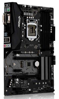 ASRock B360-PRO4 PCIE, CFX, HDMI, D-Sub, USB3.1, Intel I219V