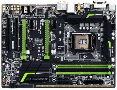 Gigabyte G1-SNIPER-B7 LGA1151, 4xDDR4, PCIE, Int. Graphic, USB3.0, RAID
