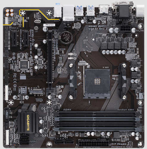 Gigabyte GA-A320MA-M.2 AMD AM4 2xDDR4, PCIE, Int. Graphic, USB 3.1, mATX