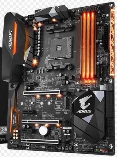 Gigabyte GA-AX370-GAMING-K7 AMD X370, 4 x DDR4,HDMI, USB 3.1