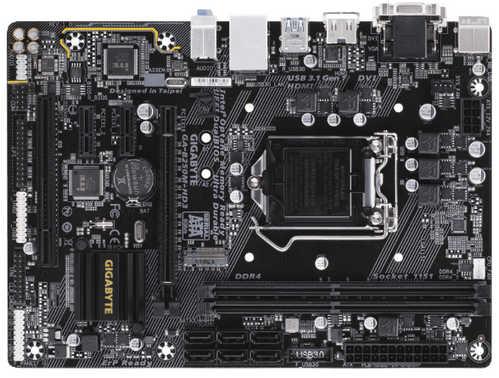 Gigabyte GA-B250M-HD3 Intel B250 LGA1151, 2xDDR4, PCIE, Int. Graphic, USB3.1, mATX