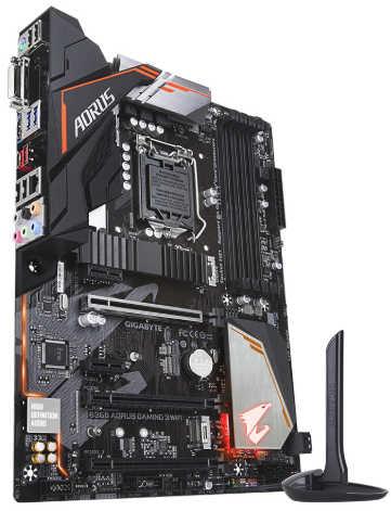 Gigabyte GA-B360-AORUS-GAMING-3-WIFI LGA1151,DDR4,HDMI,DVI-D, ATX