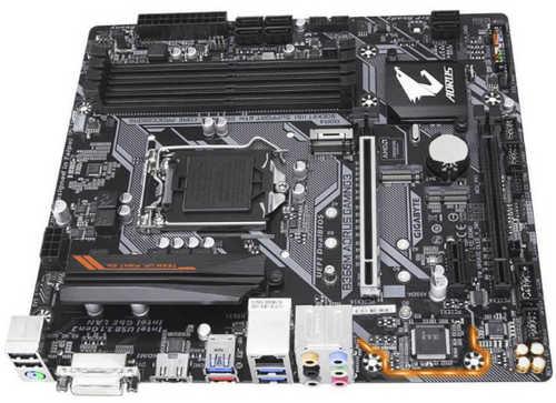 Gigabyte GA-B360M-AORUS-GAMING-3, 4xDDR4, PCIE, Int. Graphic, USB3.0, RAID