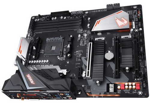 Gigabyte GA-B450-AORUS-PRO-WIFI AMD B450 Ryzen AM4 DDR4, Int. Radeon Vega Graphics, USB3.1