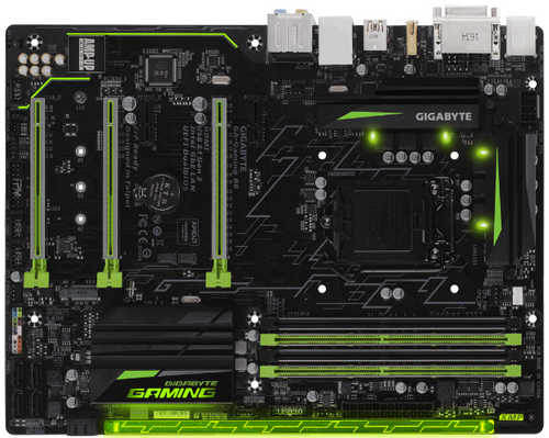Gigabyte GA-GAMING-B8 Intel B250 LGA1151, 4xDDR4, PCIE, Int. Graphic, USB3.1