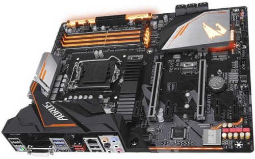 Gigabyte GA-H370-AORUS-GAMING-3-WIFI LGA1151, 4xDDR4, PCIE, Int. Graphic, USB3.1