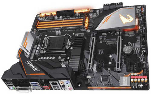 Gigabyte GA-H370-AORUS-GAMING-3  4xDDR4, PCIE, USB3.1