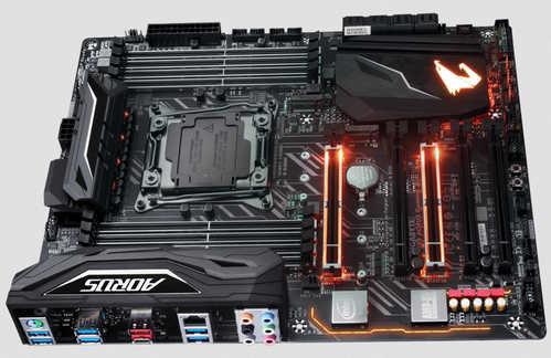 Gigabyte GA-X299-AORUS-GAMING-3 LGA2066, 8xDDR4, PCIE, USB3.1
