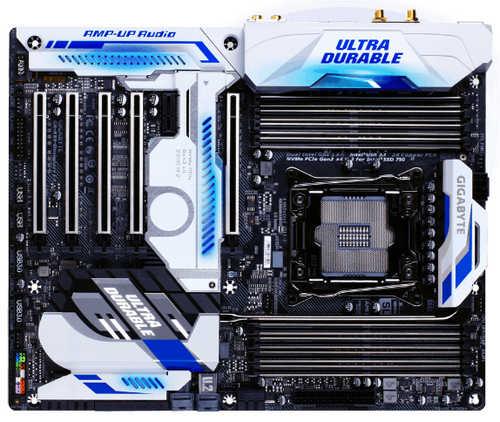 Gigabyte GA-X99-DESIGNARE GA-X99-Designare EX LGA2011-3, 8xDDR4, PCIE, USB3.1, RAID