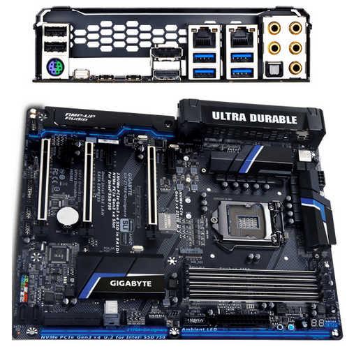 Gigabyte GA-Z170X-DESIGNARE Intel Z170 LGA1151, 4xDDR4, PCIE, Int. Graphic, USB3.1, RAID