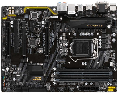 Gigabyte GA-Z270-HD3 Intel Z270 LGA1151, 4xDDR4, PCIE, Int. Graphic, USB3.1