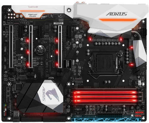 Gigabyte GA-Z270X-GAMING-7 AORUS Intel Z270 LGA1151, 4xDDR4, PCIE, Int. Graphic, USB3.1