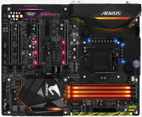Gigabyte GA-Z270X-GAMING-8 Intel Z270 LGA1151, 4xDDR4, PCIE, Int. Graphic, USB3.1