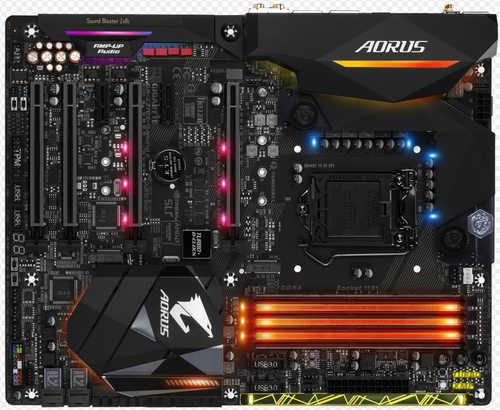 Gigabyte GA-Z270X-GAMING-8 Intel Z270 LGA1151, 4xDDR4, PCIE, Int. Graphic, USB3.1