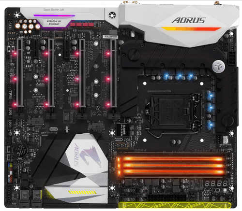 Gigabyte GA-Z270X-GAMING-9 AORUS Intel Z270 LGA1151, 4xDDR4, PCIE, Int. Graphic, USB3.1