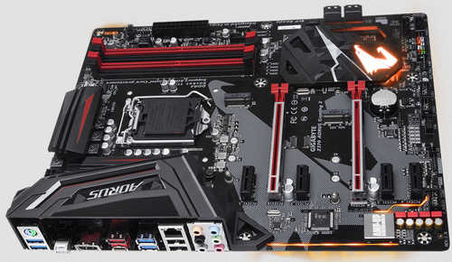 Gigabyte GA-Z370-AORUS-GAMING-3 Intel Z370 AORUS Gaming 3 LGA1151, 4xDDR4, PCIE, Int. Graphic, USB3.1