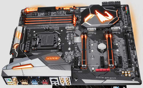 Gigabyte GA-Z370-AORUS-GAMING-5 Intel Z370 AORUS Gaming 5 LGA1151, 4xDDR4, PCIE, Int. Graphic, USB3.1