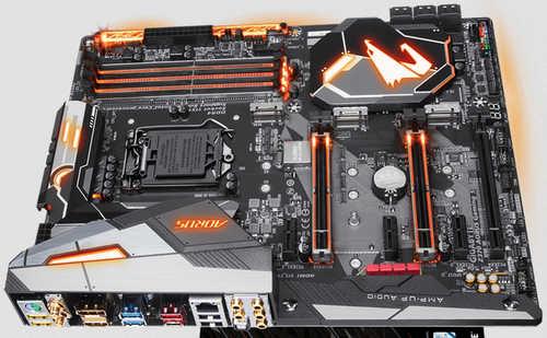 Gigabyte GA-Z370-AORUS-GAMING-5 Z370 LGA1151, 4xDDR4, PCIE, Int. Graphic, USB3.1