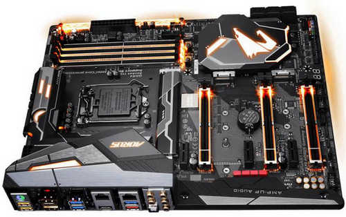 Gigabyte GA-Z370-AORUS-GAMING-7 Intel Z370 AORUS Gaming 7 LGA1151, 4xDDR4, PCIE, Int. Graphic, USB3.1