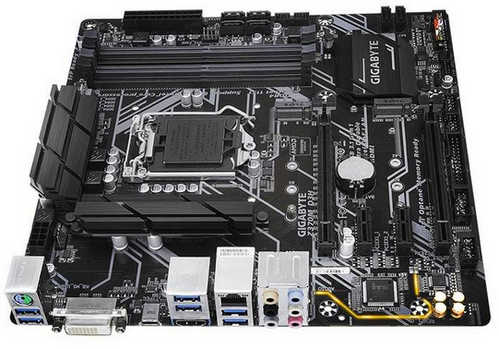 Gigabyte GA-Z370M-D3H Intel Z370 LGA1151, 4xDDR4, PCIE, Int. Graphic, USB3.1 mATX