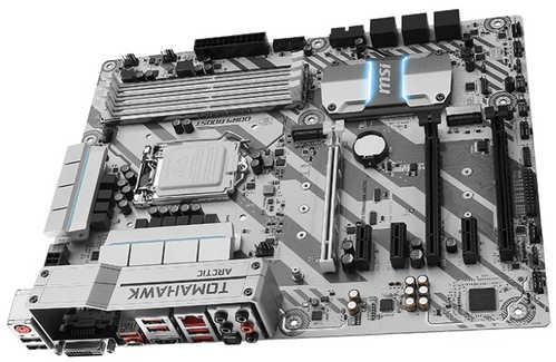 MSI H270 TOMAHAWK ARCTIC Intel H270 LGA1151, 4xDDR4, PCIE, Int. Graphic, USB3.1