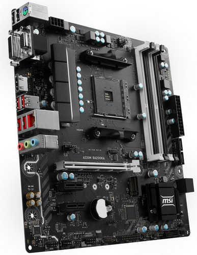 MSI A320M BAZOOKA AMD A320 Ryzen AM4 4xDDR4, PCIE, USB3.1, mATX