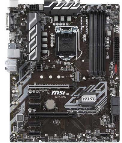 MSI B360-A-PRO LGA1151, 4xDDR4, PCIE,M.2 , USB3.1